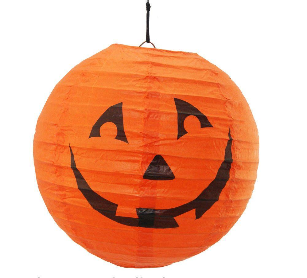Декор подвесной Тыква 20 см, Halloween party