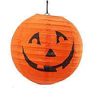Декор подвесной Тыква 20 см, Halloween party, фото 1