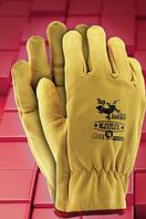 Защитные перчатки RLCSYLUX. Перчатки спилковые оптом, фото 1