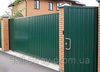 Забор из профнастила. Монтаж забора под ключ, установка забора из ваших материалов, строительство заборов, фото 6