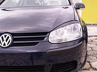 Накладки на фары (Реснички) Volkswagen Golf 5
