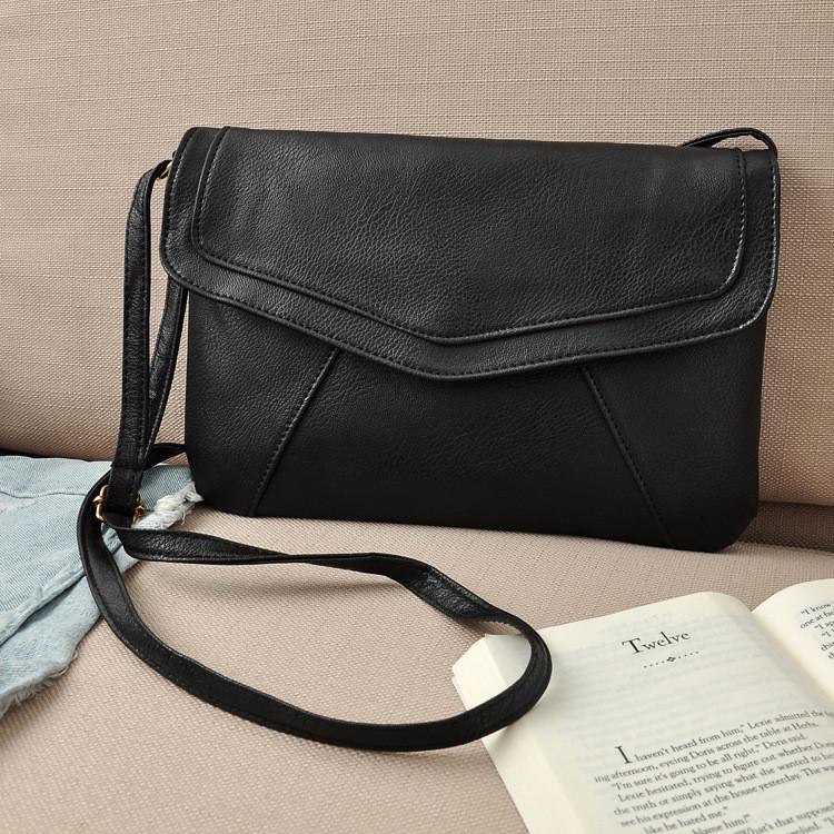 730f8bc9ed11 ... Женская сумка клатч конверт черного цвета, фото 4