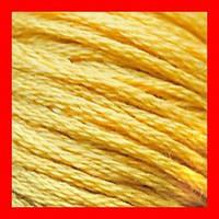 Нитки мулине CXC для вышивания, цвет 3821