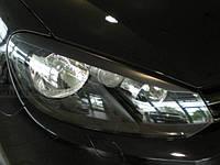 Накладки на фары (Реснички) Volkswagen Golf 6