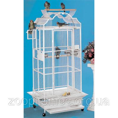 Вольер клетка двойная для попугаев, птиц 2 в 1 66*51*78+78 см