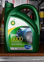 Синтетическое моторное масло bp Visco 5000 5w40 (4 литра)