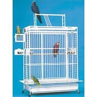 Вольер большой для попугаев 117*74*188 см шаг прутьев 2,5 см