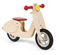 Janod - скутер-беговел ванильного цвета
