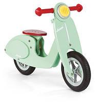 Janod - скутер-беговел мятного цвета