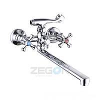 Смеситель для ванной Zegor T65-DFU-A827