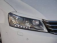 Реснички на фары Volkswagen Passat B7