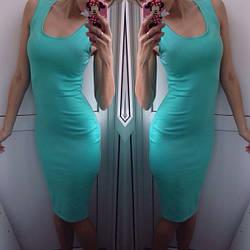 Летнее платье майка по колено 135 грн, фото 3