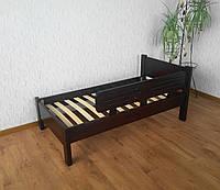 """Детская кровать """"Детская Эконом"""" (1400\1600*700мм.) массив - сосна, ольха, дуб."""