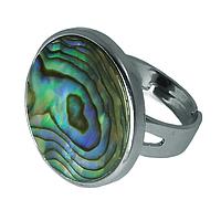 Перламутр халиотис, кольцо