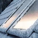 Мансардное окно GLP 0073B, ручка снизу, белый ПВХ, фото 5