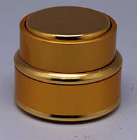 Баночка круглая золотистая элитная 15 грн TTM-14, YRE