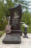 Памятник на могилу с гитарой, фото 1