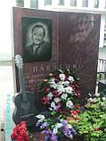 Памятник на могилу с гитарой, фото 3