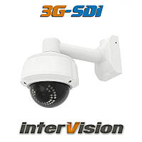 Цифровая вариофокальная видеокамера 3G-SDI-2095WAI InterVision 1080P(2.4 Мр)5-50mm (150 метров) 3.6-16mm опция
