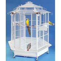 Вольер большой для попугаев шестиугольник D 132* H 183 cм 999