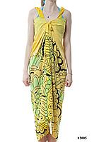 Парео-сарафан светло-желтое
