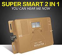Усилитель мобильной связи, Репитер ATNJ 3G+WCDMA 2100MHz+1800MHz 75/65dB