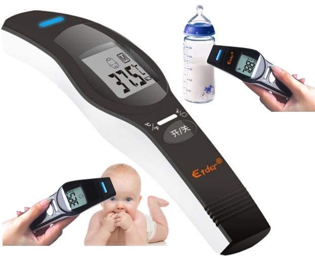 Термометр инфракрасный бесконтактный LCD детский