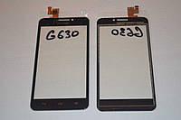 Оригинальный тачскрин / сенсор (сенсорное стекло) для Huawei Ascend G630-U10 (черный цвет) + СКОТЧ В ПОДАРОК