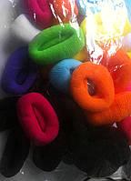Резинки для волос цветные, 30 шт., (55 мм)