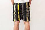 Чоловічі шорти (плащівка), чорного кольору, фото 2