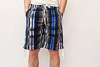 Мужские летние шорты светло-серые  (удлиненные)