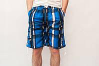 Мужские летние шорты электрик (удлиненные)