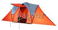 Палатка туристическая кемпинговая Camp Base для кемпинга 6 местная с чехлом
