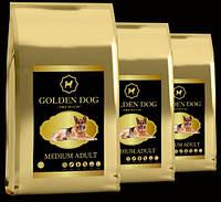 Корм для взрослых собак средних пород GOLDEN DOG Medium  Adult 10 кг