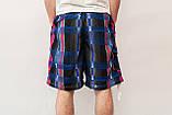 Чоловічі шорти (плащівка), синього кольору, фото 2