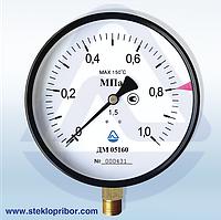 Манометр ДМ 05100 (М) 1мПа  класс 1,5(2,5)