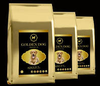 Корм для взрослых собак старшего возраста GOLDEN DOG Adult 7+ 10 кг АКЦИЯ!!
