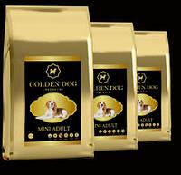 Корм для взрослых собак мелких пород GOLDEN DOG Mini Adult 10 кг