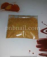 Пыль для втирки - золото  голографика, 10 гр.