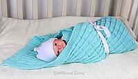 """Детский плед для новорожденного в кроватку и коляску """"Мечта"""" ББ15"""