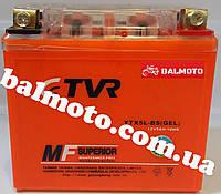 Аккумулятор АКБ 5А GEL оранжевый TVR (113*70*106)