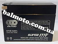 Аккумулятор АКБ 4А таблетка Хонда OUTDO (113*49*86)
