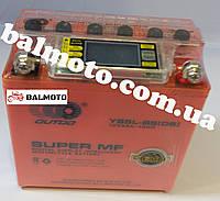 Аккумулятор АКБ 5А GEL оранжевый OUTDO высокий с жк дисплеем (120*60*130)