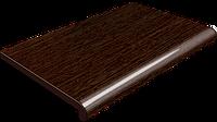 Подоконник Plastolit  Венге матовый, гладкий 450 мм