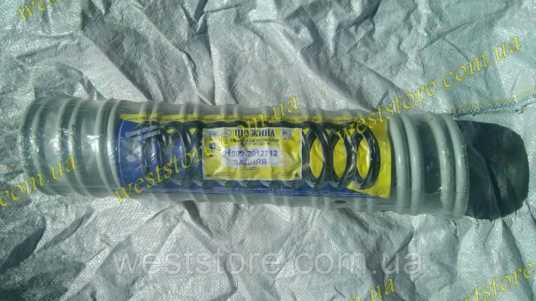 Пружины задней подвески Ваз 21099 Орел (к-кт 2шт)21099-2912712
