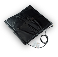Нагреватель коврик под бочку 200 л 500 мм х 500 мм разогрев до +40°С