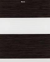 Рулонные шторы День-Ночь Венге (1506)