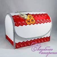 Сундук свадебный в украинском стиле