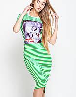 Молодежное платье для лета   Тина leo