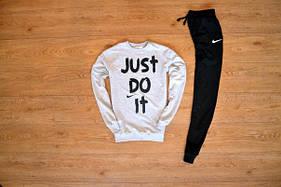 Спортивный костюм Nike белый